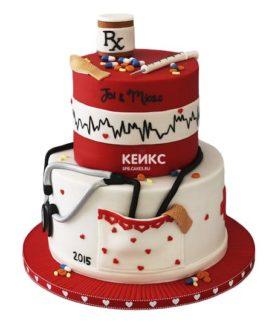 Торт для врача женщины-6
