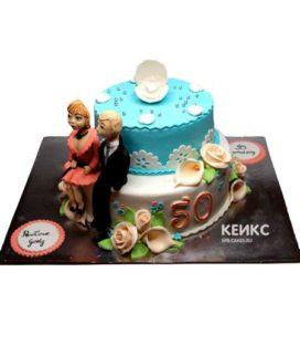 Торт для мамы и папы 1