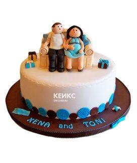 Торт для мамы и папы 10