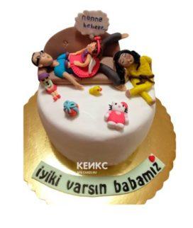 Торт для мамы и папы 2