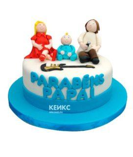 Торт для мамы и папы 6