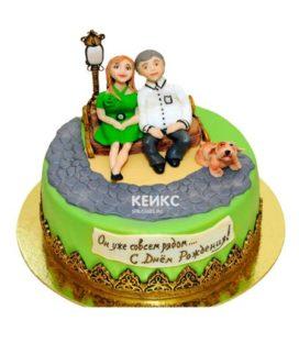 Торт для мамы и папы 9