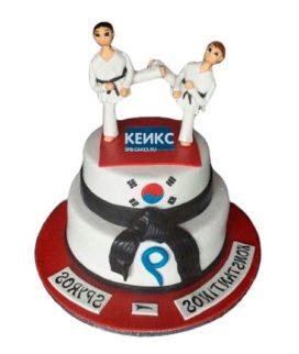 Торт дзюдо-5