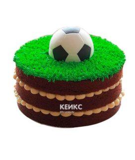 Торт футбол без мастики 1