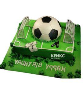 Торт футбольное поле-1