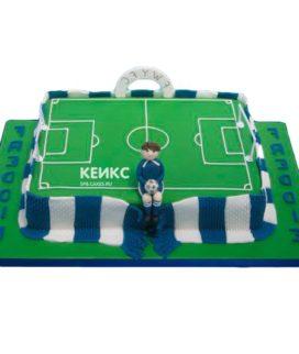 Торт футбольное поле-2