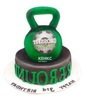 Торт гиря-10