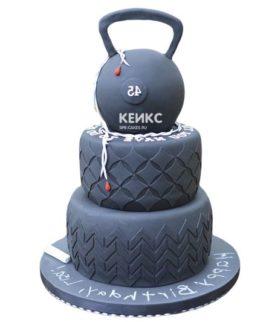 Торт гиря