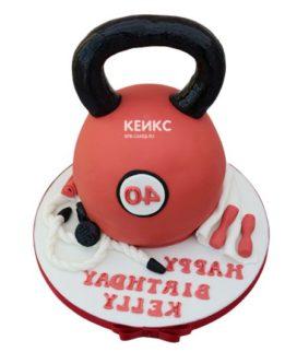 Торт гиря-5