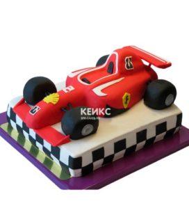 Торт гоночная машина-10