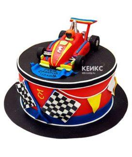 Торт гоночная машина-4