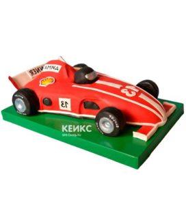 Торт гоночная машина-8