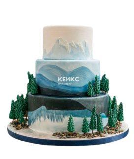 Торт гора-1