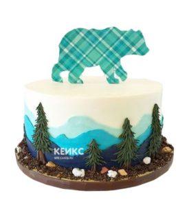 Торт гора-11