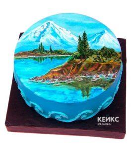 Торт гора-3
