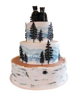 Торт гора-6