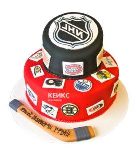 Торт хоккей-14