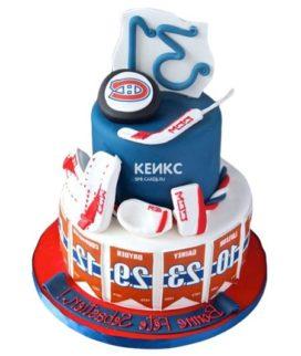 Торт хоккей-9