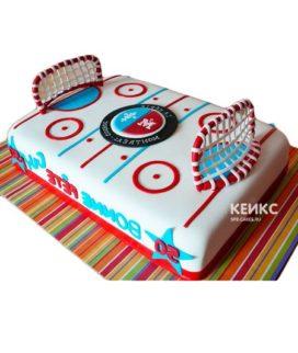 Торт хоккейное поле-2