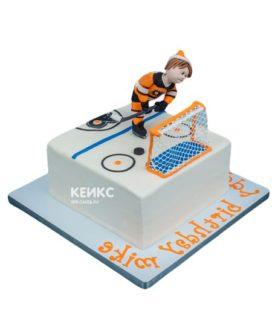 Торт хоккейное поле-3