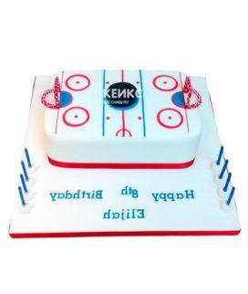 Торт хоккейное поле-8