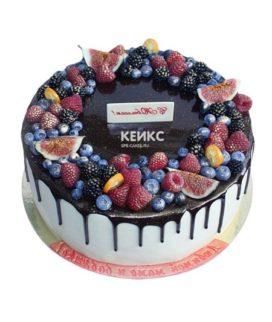 Торт ягодно-фруктовый-10
