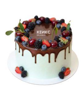 Торт ягодно-фруктовый-13