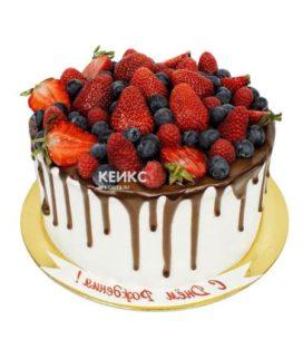 Торт ягодно-фруктовый-16