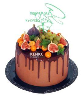 Торт ягодно-фруктовый-4