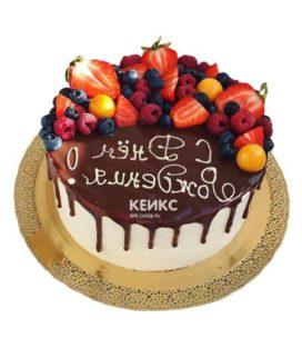 Торт ягодно-фруктовый-5