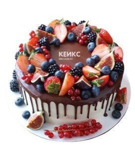 Торт ягодно-фруктовый-7