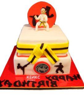 Торт карате-3