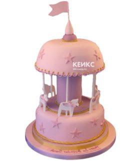 Торт карусель-3