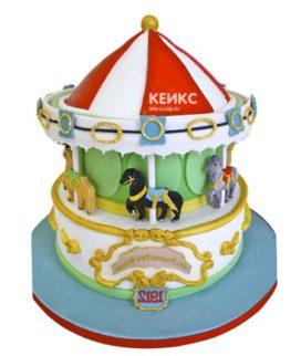 Торт карусель-4