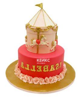 Торт карусель-6