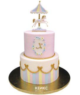Торт карусель-8