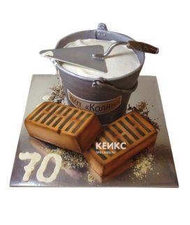 Торт кирпич 2