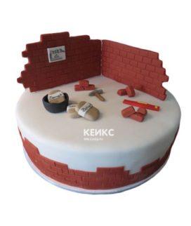 Торт кирпич 4