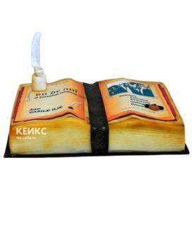 Торт книга для мужчины 4