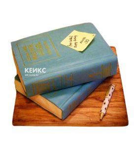 Торт книга для мужчины 6