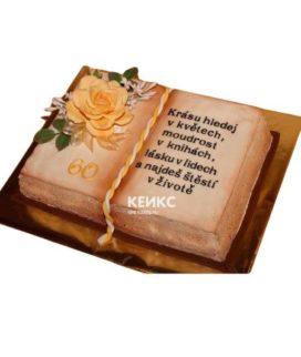 Торт книга на юбилей женщине  3