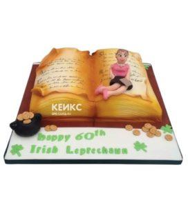 Торт книга на юбилей женщине 5