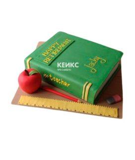 Торт книга учителю 1