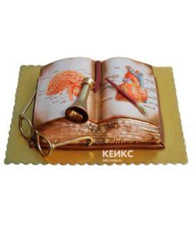 Торт книга учителю 10