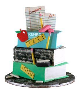 Торт книга учителю 2