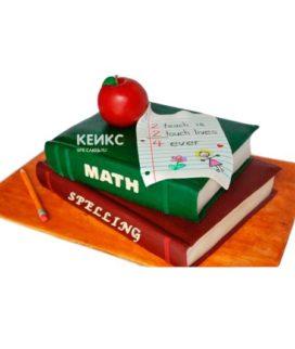 Торт книга учителю 6