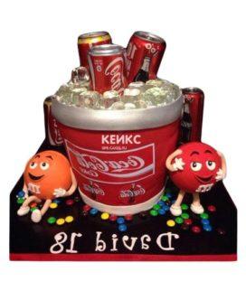 Торт кока-кола 1