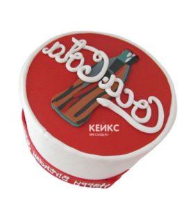 Торт кока-кола 2