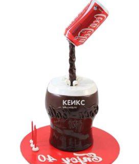 Торт кока-кола 4