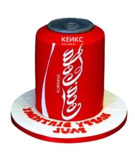 Торт кока-кола 6
